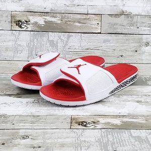 b4f5fe349 Nike Shoes - Nike Men s Jordan Hydro 3 III Retro White Fire Red